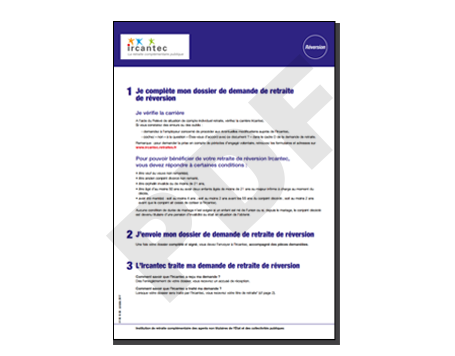 Guide simplfié de la réversion