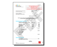 Bulletin de pension / attestation fiscale